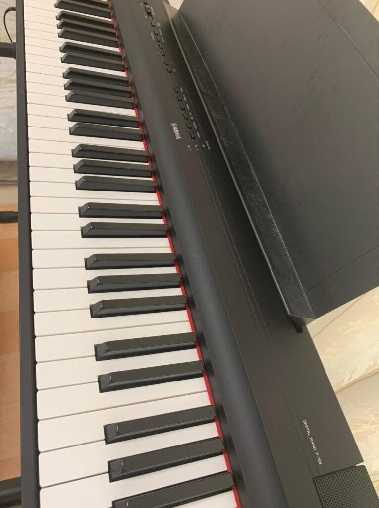 ピアノ(ヤマハP-125)
