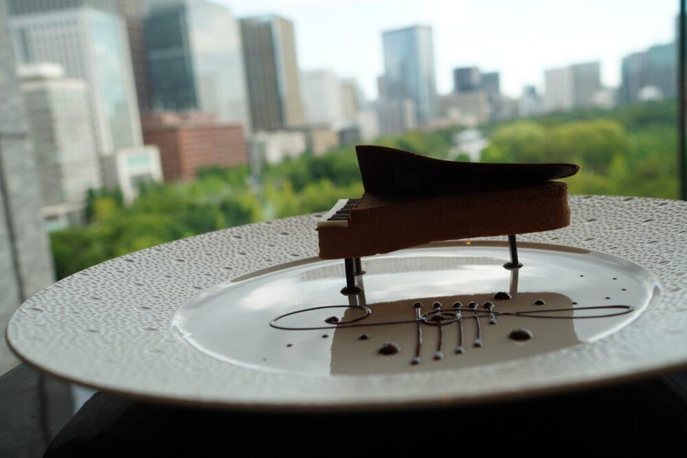 ピアノショコラと景色の共演