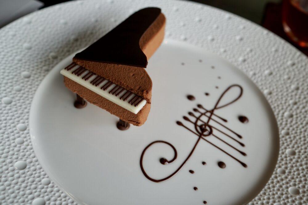 音符も可愛いピアノショコラ